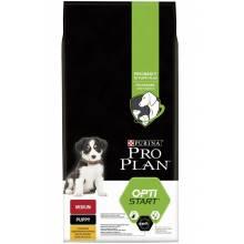 Pro Plan Medium Puppy корм для щенков средних пород с курицей и рисом 1,5 кг (12 кг)