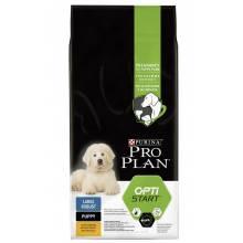 Pro Plan Large Robust Puppy корм для щенков крупных пород с курицей и рисом 12 кг