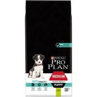Pro Plan Medium Puppy Sensitive Digestion Lamb - корм для щенков средних пород с чувствительным пищеварением с ягненком и рисом 1,5 кг (3 кг) (12 кг) (18 кг).