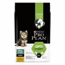 Pro Plan Small & Mini Puppy корм для щенков мелких пород с курицей и рисом 3 кг (7 кг)