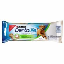 Лакомство Purina DentaLife для собак крупных пород для поддержания здоровья полости рта - 36 г