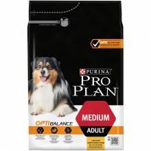 Pro Plan Medium Adult Chicken Rice сухой корм для взрослых собак средних пород с курицей и рисом 3 кг (7 кг) (14 кг)