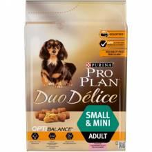 Pro Plan Duo Delice Small Adult сanine rich in Salmon with Rice dry для взрослых собак мелких и карликовых пород с лососем и рисом - 2,5 кг