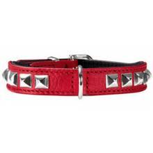 Hunter ошейник для собак Rocky petit 30 (23-27 см) кожа красный