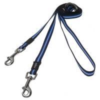 Поводок перестежка для собак ROGZ Pavement Special S-11мм 2 м (Синий)