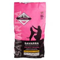 Savarra Puppy Large Breed Сухой корм для щенков крупных пород с ягненком и рисом 3 кг (12 кг) (18 кг)