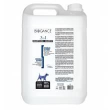 Натуральный био-шампунь Biogance 2 в 1 (шампунь + кондиционер с эффектом антистатика) - 5 л