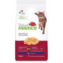 Сухой корм Trainer Natural для взрослых кошек с курицей - 1,5 кг (10 кг)