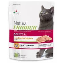 Сухой корм Trainer Natural Adult Fresh Chicken для взрослых кошек со свежим мясом курицы - 12,5 кг