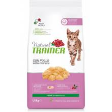 Сухой корм Natural Trainer Cat Young для котят от 7 до 12 месяцев с курицей - 1,5 кг