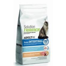 Сухой корм супер премиум класса Trainer Solution Sensintestinal With Fresh White Meats для кошек с чувствительным пищеварением со свежим белым мясом - 300 г (1,5 кг)