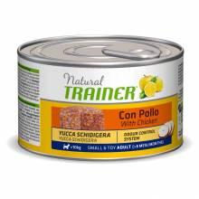 Консервы Trainer Natural Small and Toy для взрослых собак мелких и миниатюрных пород с курицей и рисом - 150 г х 24 шт