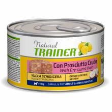 Консервы Trainer Natural Small and Toy для взрослых собак мелких и миниатюрных пород с сыровяленой ветчиной и рисом - 150 г х 24 шт