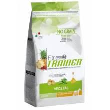 Trainer Fitness3 No Grain Medium/Maxi Adult Vegetal вегетарианское питание для взрослых собак - 12,5 кг