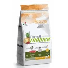 Сухой корм Trainer Fitness3 No Gluten Medium/Maxi Adult Duck and Rice nd Rice для взрослых собак средних и крупных пород с уткой и рисом - 3 кг