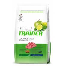 Сухой корм Trainer Natural Maxi Adult для взрослых собак крупных пород с говядиной и рисом - 3 кг (12 кг)