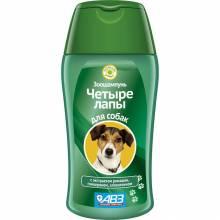 АВЗ Четыре лапы шампунь для ежедневного мытья лап у собак - 180 мл