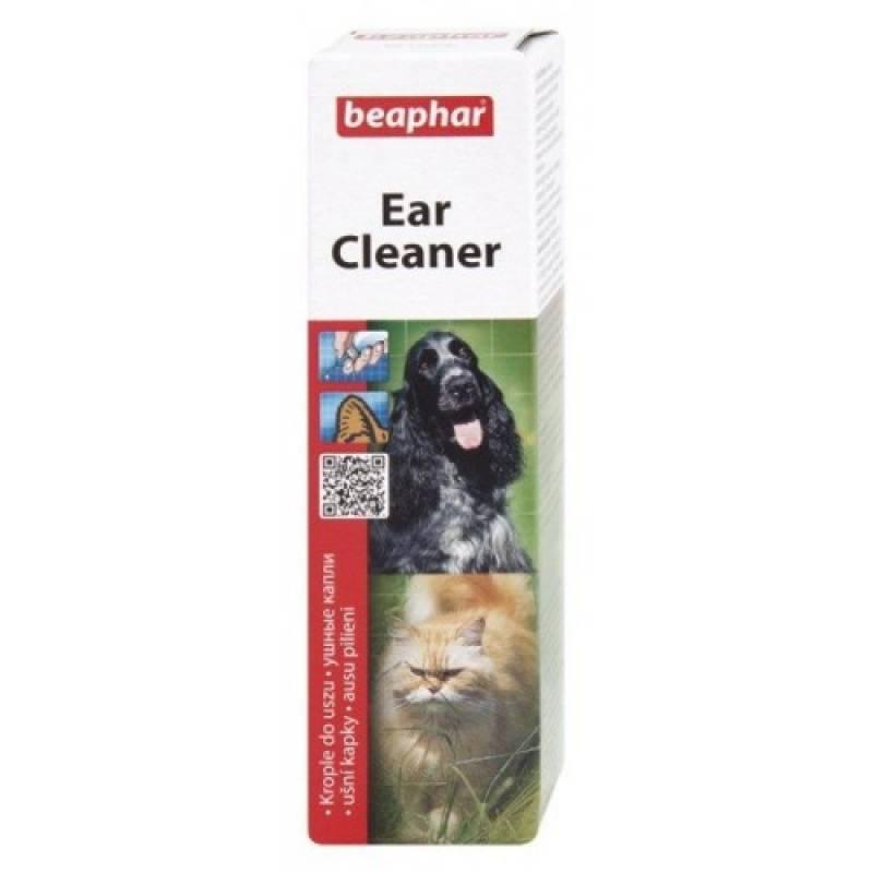 Beaphar Ear Cleaner Лосьон для ушей для кошек и собак 50 мл