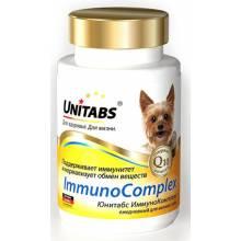 Unitabs ImmunoComplex с Q10 витамины для мелких собак 100 таб.