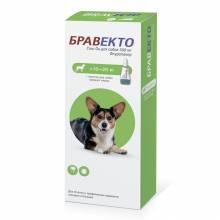 Intervet Бравекто капли от блох и клещей для собак массой от 10 до 20 кг