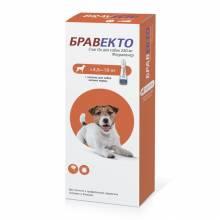Intervet Бравекто капли от блох и клещей для собак массой от 4,5 до 10 кг