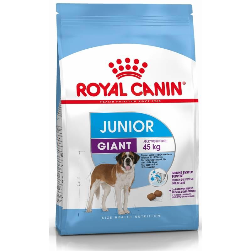 Royal Canin Giant Junior - корм для щенков гигантских пород от 8 до 18-24 месяцев 3,5 кг (15 кг)