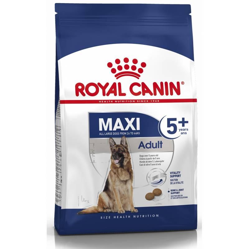 Royal Canin Maxi Adult 5+ - корм для собак крупных пород старше 5 лет - 4 кг  (15 кг)