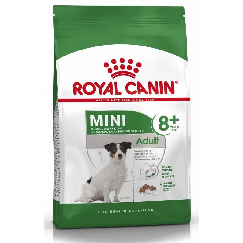 Royal Canin Mini Adult 8+ сухой корм взрослых для собак мелких пород старше 8 лет (2 кг) (4 кг)