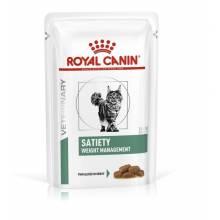 Royal Canin Satiety Weight Management влажный корм для взрослых кошек при ожирении в паучах - 85 гр х 12 шт.