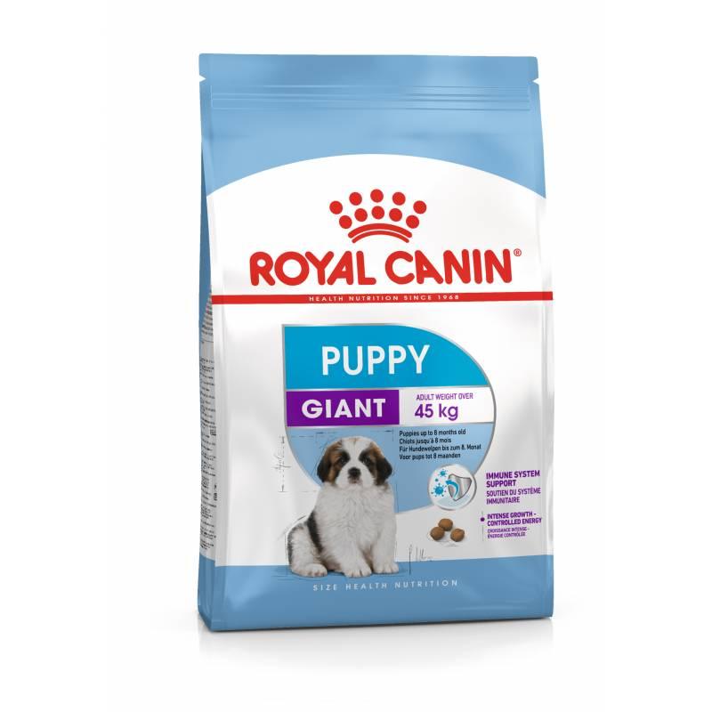 Royal Canin Giant Puppy - корм для щенков гигантских пород от 2 до 8 месяцев 3,5 кг (15 кг)