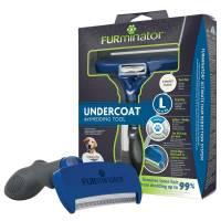 Furminator против линьки для собак крупных пород с короткой шерстью L