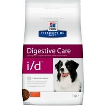 Hill's Prescription Diet i/d Digestive Care сухой корм при расстройствах пищеварения, жкт для собак с курицей 2 кг (12 кг)
