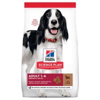 Hill's Science Plan сухой корм для взрослых собак средних пород для поддержания иммунитета, с ягненком и рисом 12 кг.