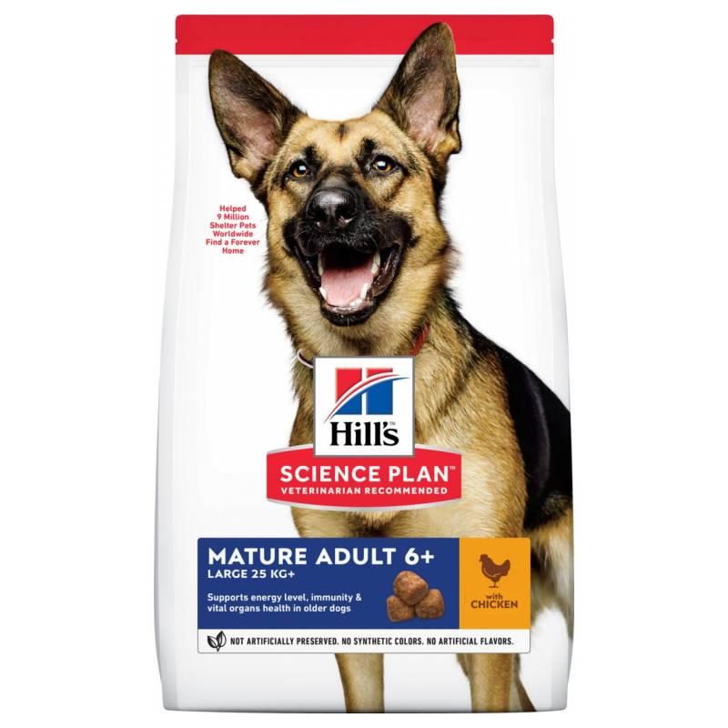 Hill's Science Plan Active Longevity корм для собак крупных пород старше 7 лет, с курицей (12 кг)