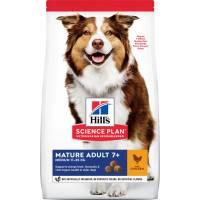Hill's Science Plan Active Longevity корм для собак средних пород старше 7 лет с курицей (12 кг)