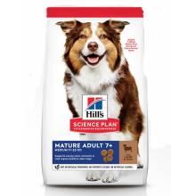 Hill's Science Plan сухой корм для пожилых собак средних пород с ягненком и рисом 2,5 кг (12 кг)