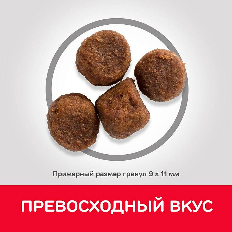 Hill's Science Plan Puppy Lamb & Rice корм для щенков средних пород до 12 месяцев ягненок с рисом 2,5 кг (12 кг)