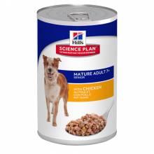 Hill's Science Plan Active Longevity влажный корм для пожилых собак с курицей 370 гр х 6 шт.