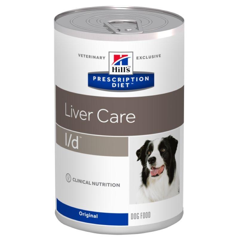 Hill's Prescription Diet l/d Liver Care консервы для собак диета при заболеваниях печени 370 гр х 12 шт.