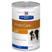 Hill's Prescription Diet s/d Urinary Care консервы для собак диета при профилактике мочекаменной болезни (МКБ) 370 гр х 12 шт.