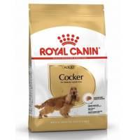 Royal Canin Cocker Adult корм для собак породы кокер-спаниель в возрасте от 12 месяцев - 3 кг (12 кг)