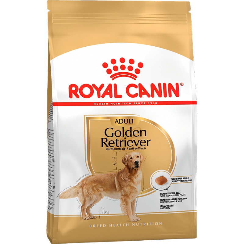 Royal Canin Golden Retriever Adult - корм для собак породы Голден Ретривер 3 кг (12 кг)
