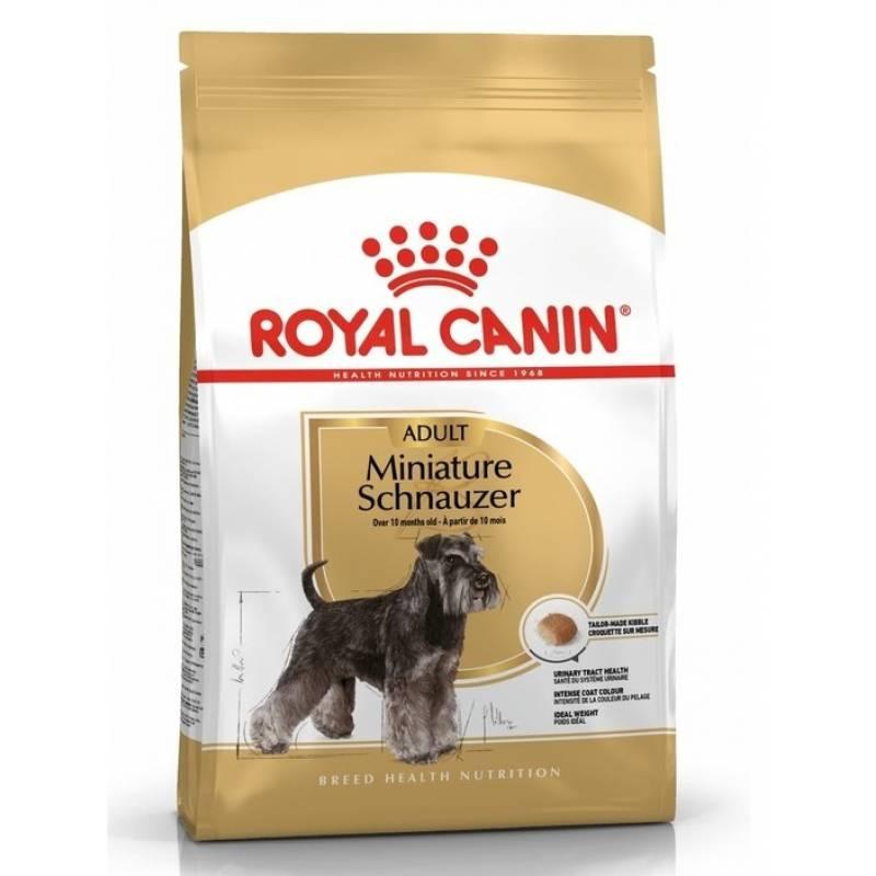Royal Canin Miniature Schnauzer Adult корм для взрослых собак породы Миниатюрный шнауцер 3 кг (7,5 кг)