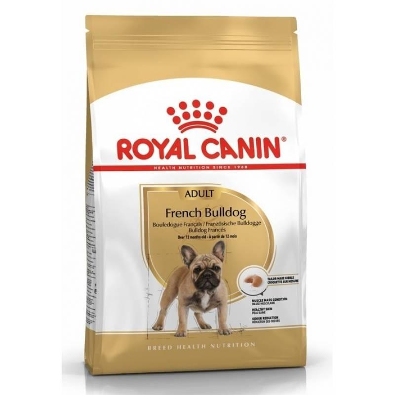 Royal Canin French Bulldog Adult сухой корм с птицей и свининой для взрослых собак породы английский бульдог старше 12 месяцев - 3 кг (9 кг)