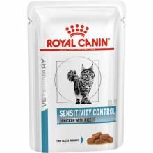 Royal Canin Sensitivity Control Feline Диета для кошек при пищевой аллергии, непереносимости - 85 гр х 12 шт.