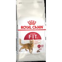 Royal Canin Fit 32 сухой корм для кошек живущих в помещении бывающих на улице 2 кг (4 кг) (15 кг)