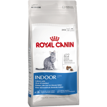 Royal Canin Indoor 27 сухой корм для кошек живущих в помещении 2 кг (4 кг) (10 кг)