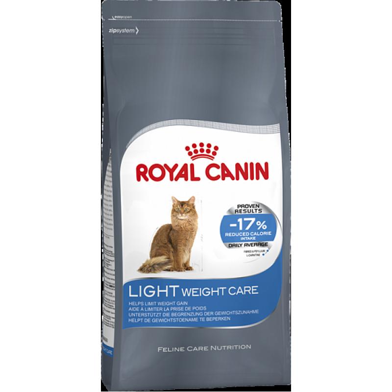Royal Canin Light Weight сухой корм для кошек с предрасположенностью к избыточному весу  2 кг (3,5 кг) (10 кг)