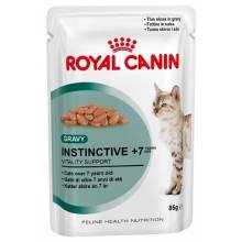 Royal Canin Instinctive +7 паучи в соусе для кошек старше 7 лет - 85 гр х 12 шт