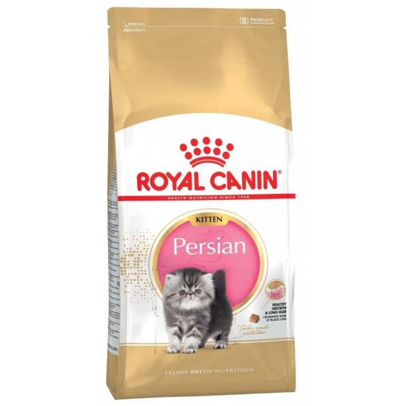Royal Canin Kitten Persian 32 сухой корм с птицей для котят персидской породы от 2 до 12 месяцев, беременных и кормящих кошек - 2 кг